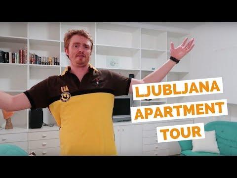 Ljubljana Apartment Tour in Slovenia