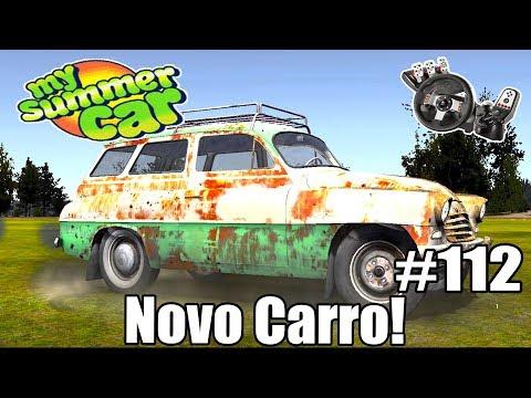 My Summer Car - TESTEI O NOVO CARRO! (G27 mod)