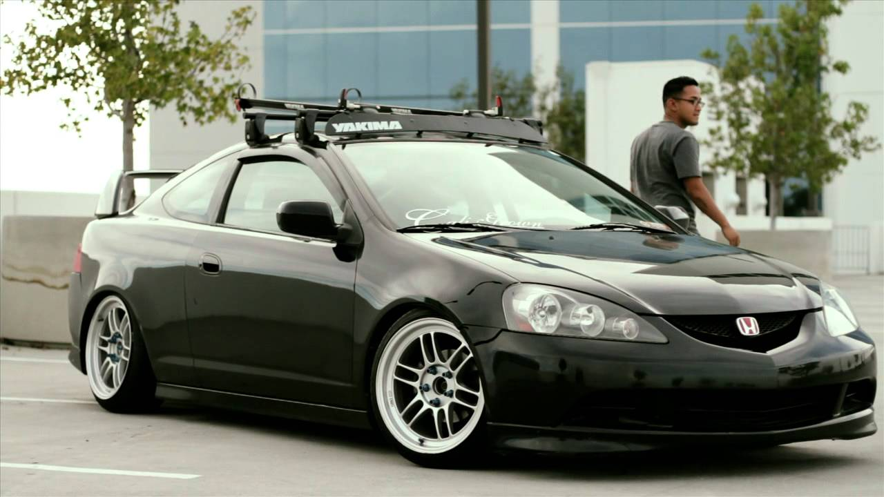 Jeds RSX YouTube - Acura rsx roof rack