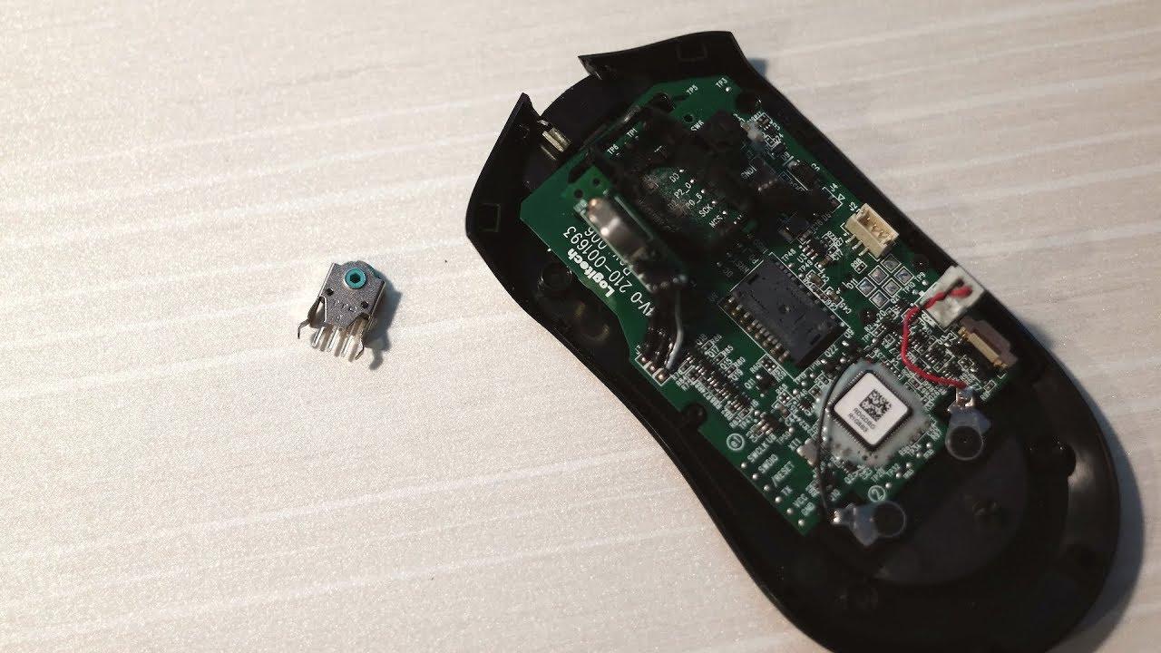 Logitech G403 wireless wheel issue fix with soldering