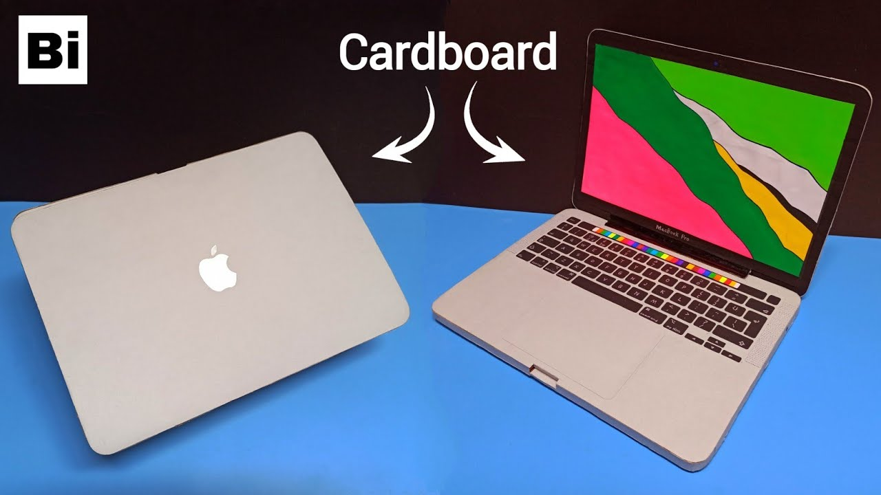 How To Make a MacBook Pro with Cardboard
