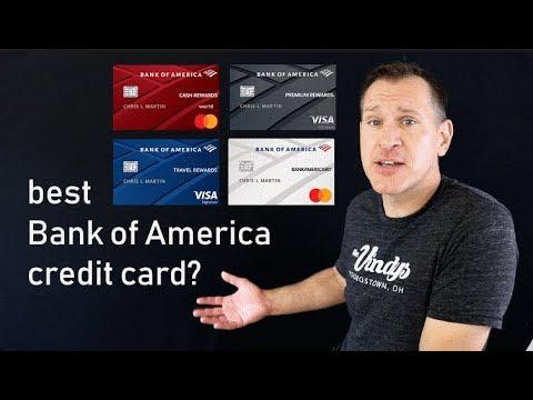 Best Bank of America Credit Cards (2019 Ratings/Rankings)