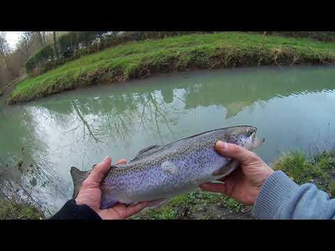 Ouverture, pêche de la truite au toc 2018 en Eure et Loir (28) PARTIE 2/6 HD