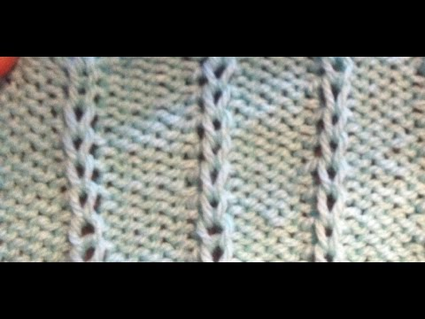 Strickmuster * IDEAL AUCH FUER ANFAENGER * - YouTube