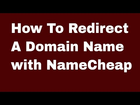 Namecheap Redirect Your Domain