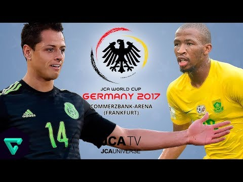 Mexico vs. South Africa | Group D | 2017 JCA World Cup Germany | PES 2017