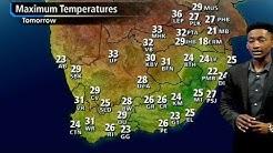 SA #Weather forecast | 01 January 2018