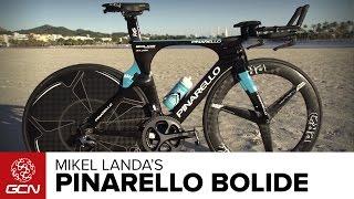 Mikel Landa's Pinarello Bolide Time Trial Bike