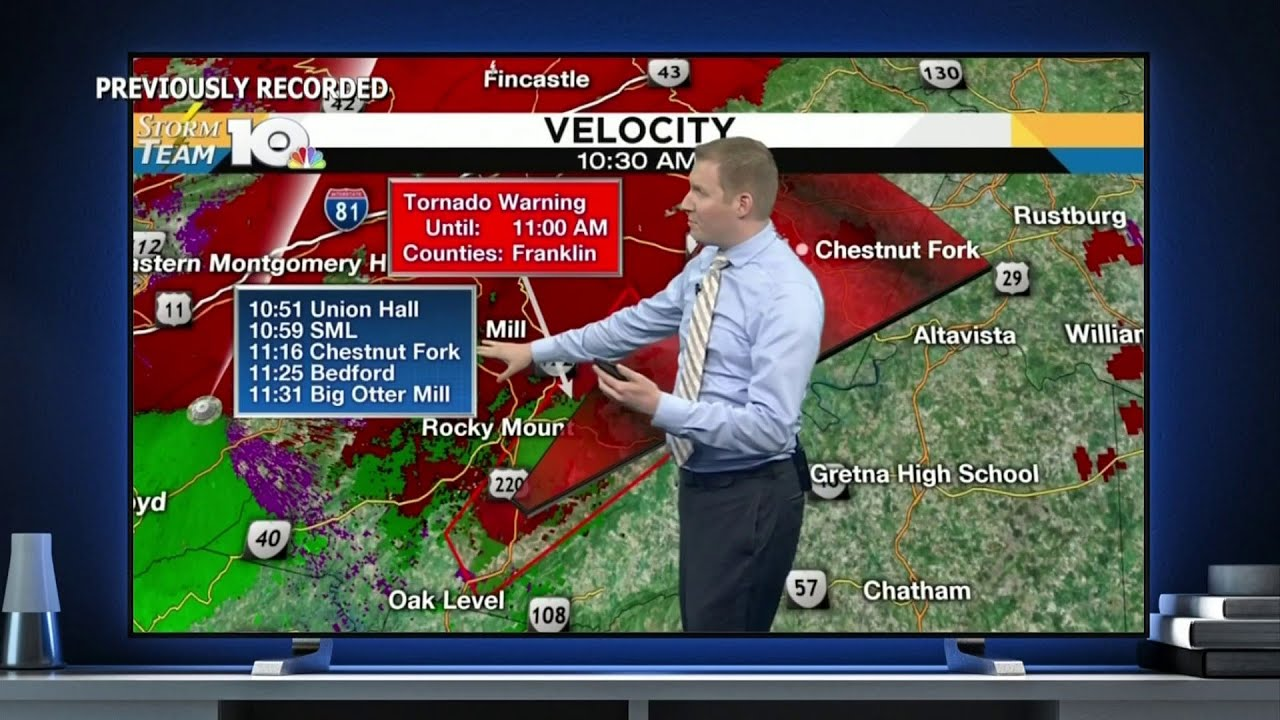 VIDEO: Why TV stations interrupt shows for tornado coverage