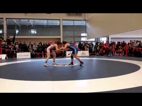2015 Senior National Championships: 69 kg Leah Ferguson vs. Alison Carrow