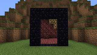 Magic Nether Portal in Minecraft thumbnail