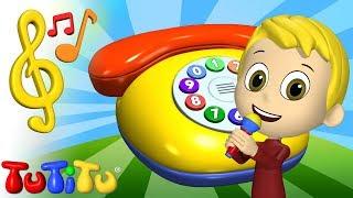 Piosenki po angielsku dla dzieci | Telefon | Nauka angielskiego dla dzieci