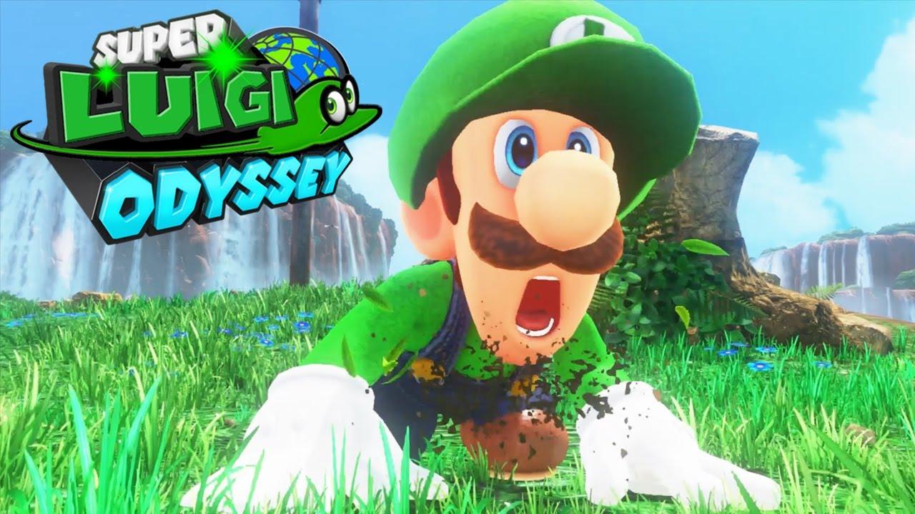Super Luigi Odyssey - Full Game Walkthrough