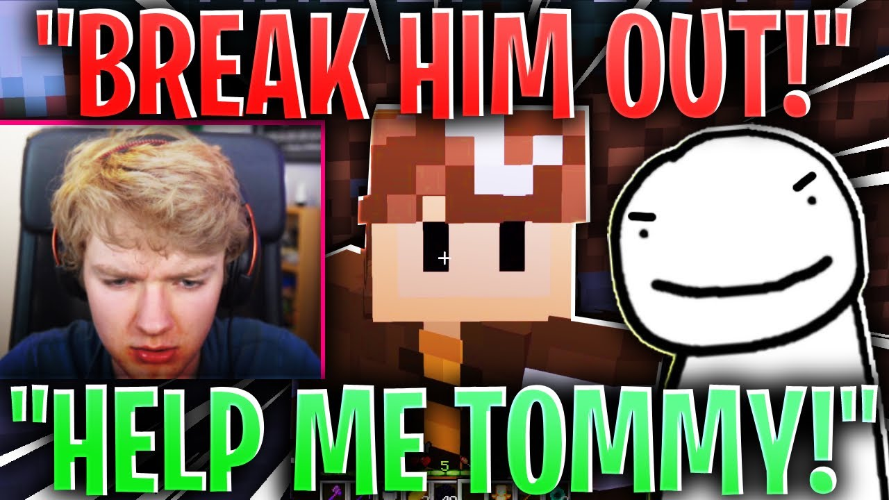 Wilbur Soot WANTS TO BREAK DREAM OUT! (dream smp)