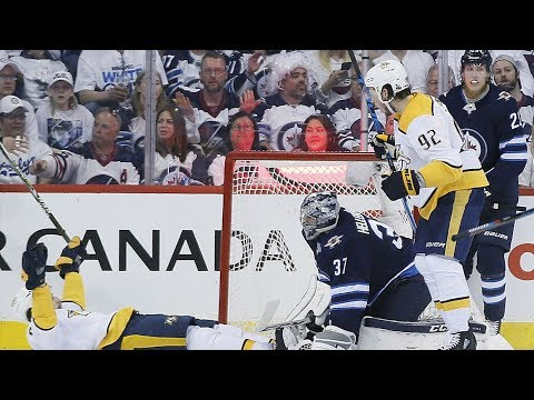 Forsberg shines in Game 6 drubbing of Jets