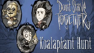 Don't Starve Together - Koalaphant Hunt