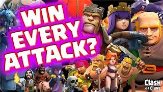 """Clash of Clans """"Win More Attacks"""" Five Keys To Victory in Clash!"""