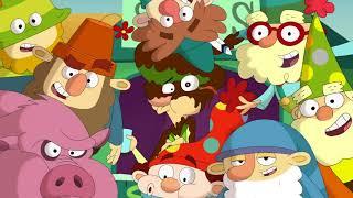 7 гномов - Когда свиньи полетят/ Школа рыцарей - Сезон 2 Серия 1 | Мультфильмы Disney