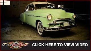 1949 Chevrolet Deluxe Styleline Sedan (SOLD)