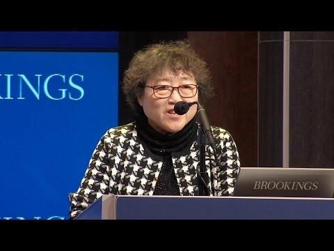 Opening remarks by Cheng Li and keynote address by Li Yinhe