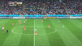 Holland vs argentina 2014 semi-final full match 1