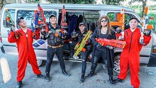 LTT Game Nerf War : Silly Soldiers Warriors SEAL X Nerf Guns Fight Rocket Crazy Odd Squad