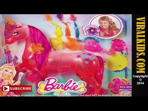 Barbie And The Secret Door Soft Feature Unicorn