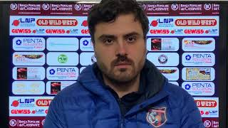 🎙 Ass. Coach Alessio Neri: Post-partita BPC Virtus Cassino - Pozzuoli