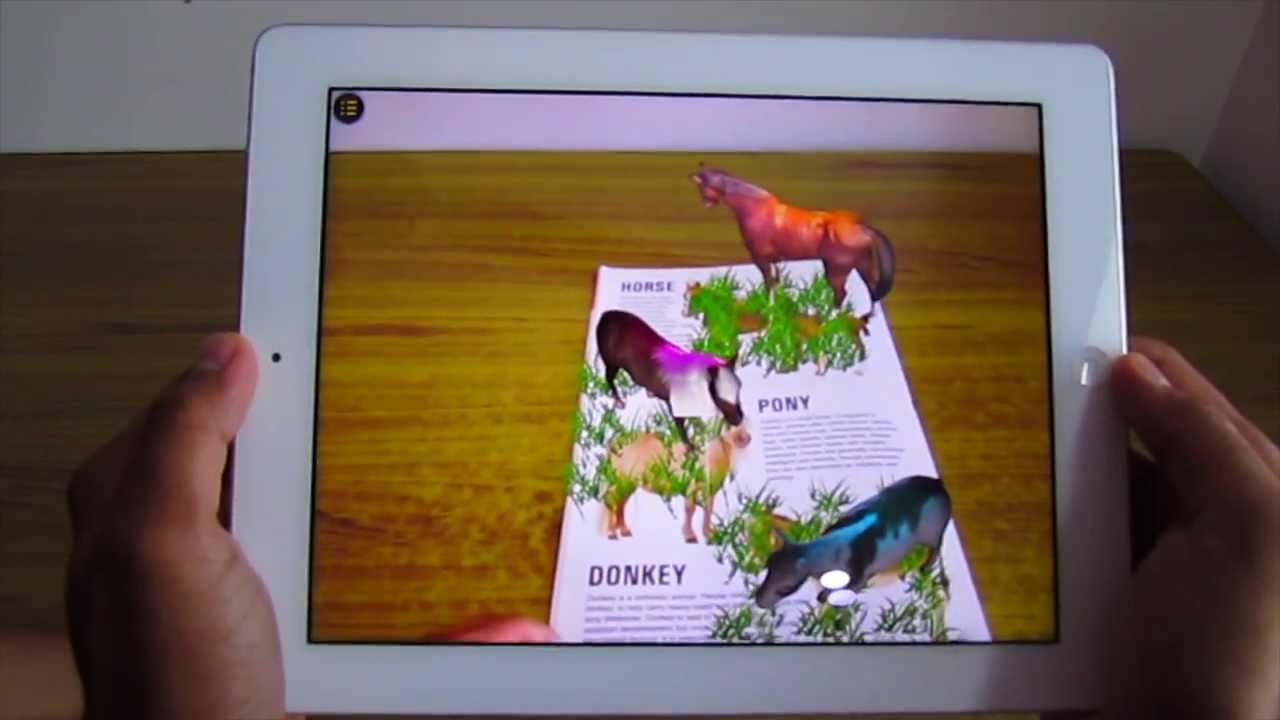 Augmented Reality For Book Publishers Kids Animal Book