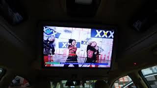 올뉴카니발 하이리무진 천정TV LG 28인치 TV로 교…