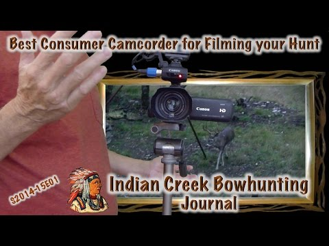 Best Hunting Video Camera ICBJ Canon XA10 XA20 HF G20 G30 Sony HXR-NX30U HDR-CX430 - S2014-15E01