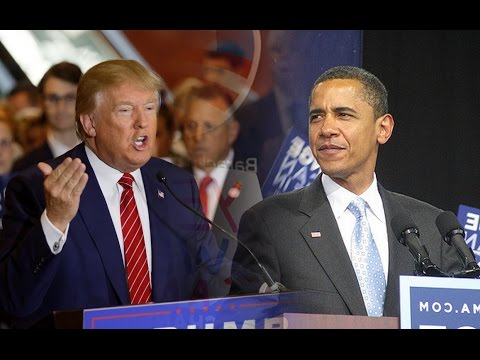 Trump and Obama first stage of Power Transition