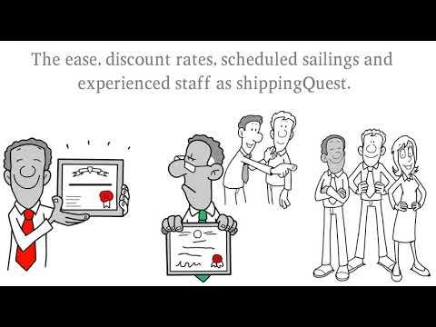 ShippingQuest International Ocean shipping booking # 1
