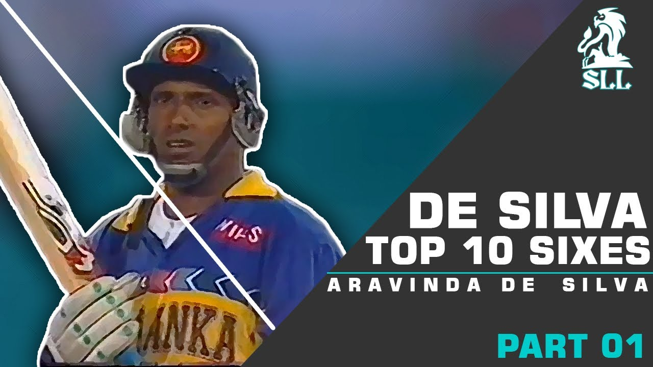Aravinda De Silva Top 10 Sixes || World Best Hook & Pull || Amazing Sixes You should watch.