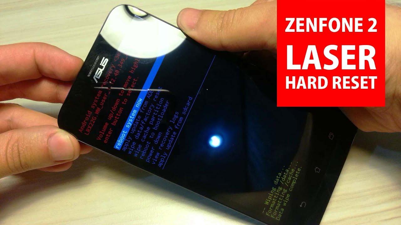 Asus Zenfone 2 Laser ZE600KL Hard Reset Videos - Waoweo