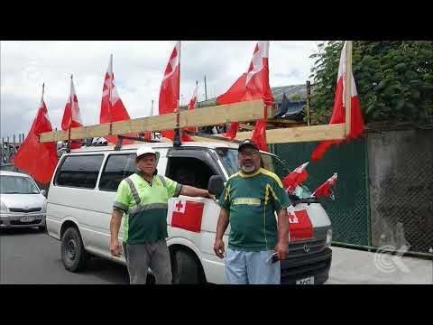 Tongan league fans shed tears of joy ahead of semi final