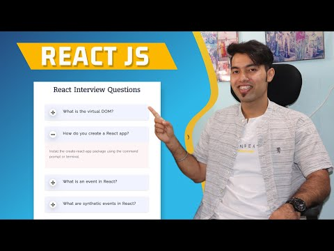 How to Create Accordion using React JS in Hindi