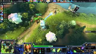 DOTA 2 : Elite Wolves vs Cloud 9 (Game 2) (Major 2015 Americas Qualifier) - Cast Ndree & Azathoth