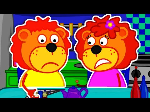 Lion Family Official Channel   Cooking Time. Cupcake Day. Bon Appétit! Cartoon For Kids