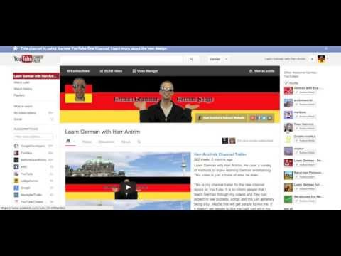 Where Can I Learn German on YouTube? - Deutsch lernen