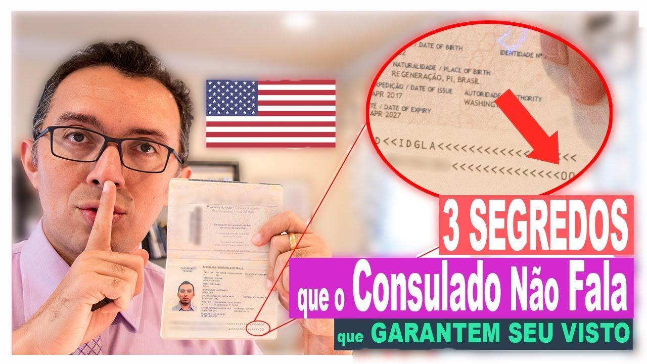 3 Segredos que o Consulado EUA Não Fala: Como Ter Visto Garantido 2019