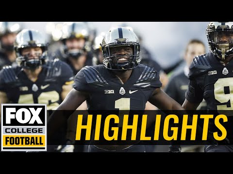 Ohio vs Purdue | Highlights | FOX COLLEGE FOOTBALL