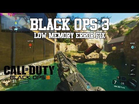 Black Ops 3 Beta: Low Memory Error Fix - Awesome Shotgun Gameplay!