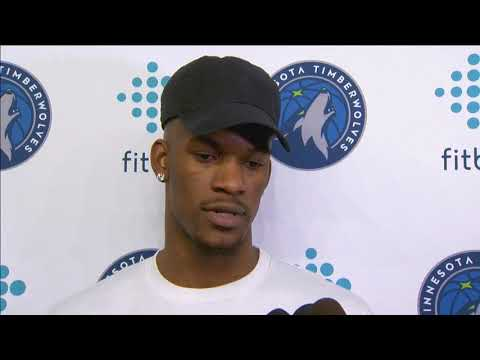 Timberwolves' Butler gives update on rehab from knee surgery