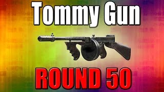 M1927 (Tommy Gun) On Round 50 - Call Of Duty Zombies