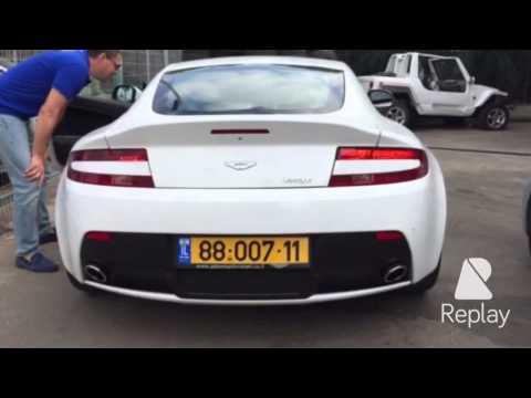 Aston Martin Vantage  !! אוסטון מרטין. Israel sport cars.