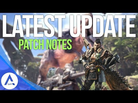 Monster Hunter World: New Weekly Update 1.03/1.04 Patch Notes (Xbox/PS4)