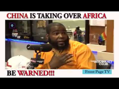 China Colonisation Of Africa And the Caribbean