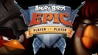 Angry Birds Epic - Birds Arena Player vs Player Max Level ( New )