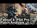 4K Fallout 4 PS4 Pro Patch Analysis Boost Mode Frame Rate Test mp3